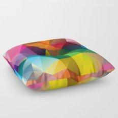 Geometric view Floor Pillow