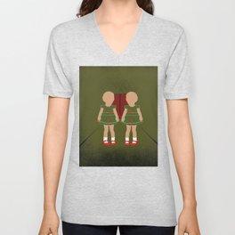 Twin Kids Unisex V-Neck