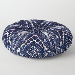 SNOWFLAKE Floor Pillow
