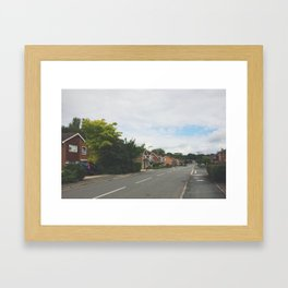 Quaint Surrey Street Framed Art Print