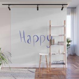Happy Wall Mural