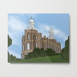Logan Temple Metal Print
