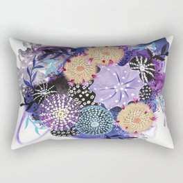 Aerial Cactus In Plumvision Rectangular Pillow