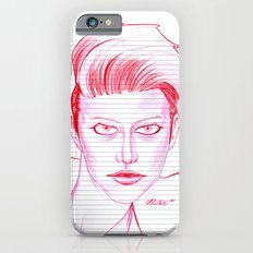 Fashion Hair with Loose Leaf Flair iPhone 6s Slim Case