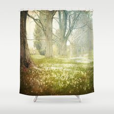 Go With Grace Shower Curtain