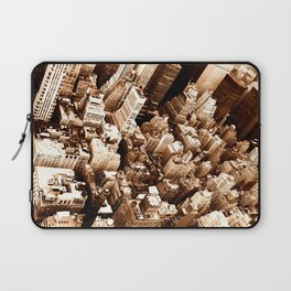 NYC - Big Apple from Empire  Laptop Sleeve