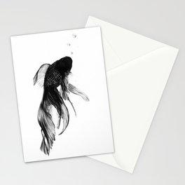 Black Moor Goldfish Stationery Cards