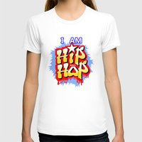hip hop T-shirts featuring HIP-HOP by DaeSyne Artworks