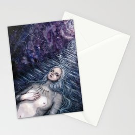 6 of Swords Stationery Cards