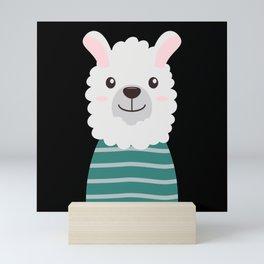 Llama Mini Art Print