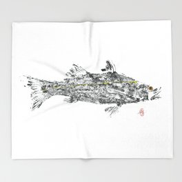 Snook Throw Blanket