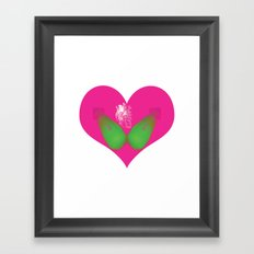 lovebomb-iiis - élan vital ephemeral - in_destruction creation! Framed Art Print