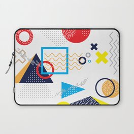 Memphis Pattern Laptop Sleeve