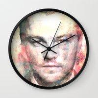 leonardo Wall Clocks featuring Leonardo DiCaprio by Nechifor Ionut