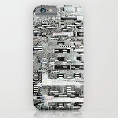 Highly Resolved Ghost (P/D3 Glitch Collage Studies) Slim Case iPhone 6s