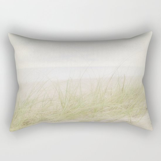 Pale Beach Rectangular Pillow