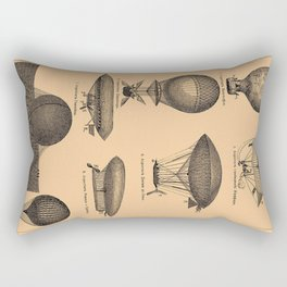 Airships / Air Balloons Rectangular Pillow