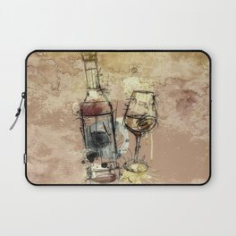 Spilt Wine Laptop Sleeve