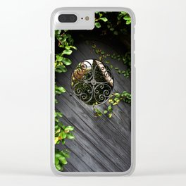 Window of Opportunity Clear iPhone Case