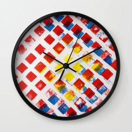 Math series, six Wall Clock