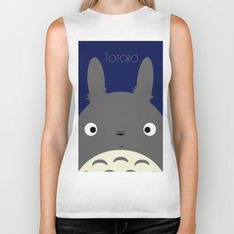 Totoro Biker Tank