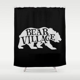 Bear Village - Polar Shower Curtain