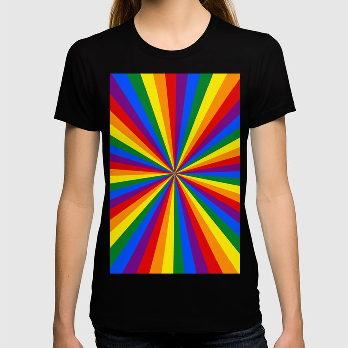Eternal Rainbow Infinity Pride T-shirt