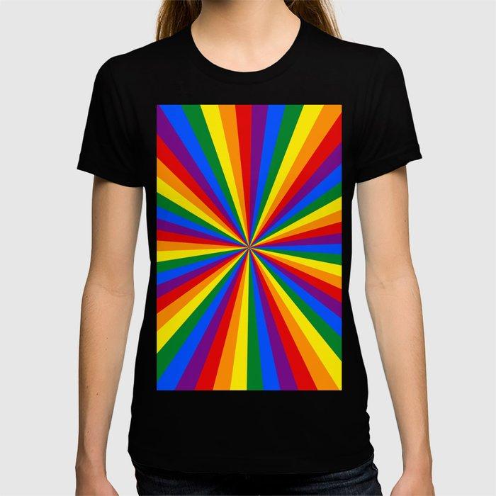 Eternal Rainbow Infinity Pride T-shirt