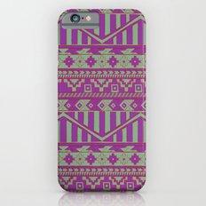 Multicolor Aztec pattern iPhone 6s Slim Case