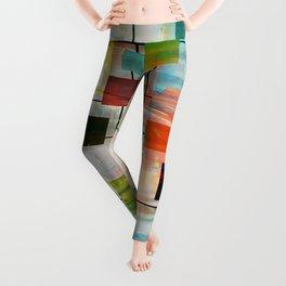 Mid-Century Modern Art 1.3 -  Graffiti Style Leggings