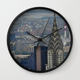 Miles of NYC Wall Clock