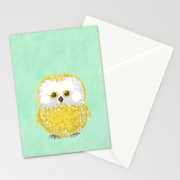 Oly the Owl  Stationery Cards