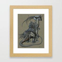 Ol' Salty Framed Art Print