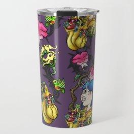Coraline Pattern Travel Mug