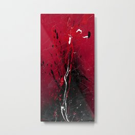 Rising - abstract painting by Rasko Metal Print