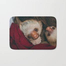 Baby Sloth Cute Bath Mat