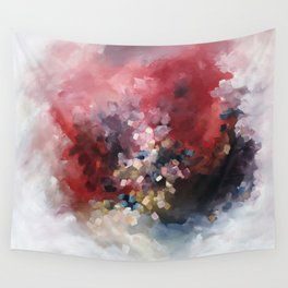 MORE - An abstract acrylic painting, flowing movement. Wall Tapestry