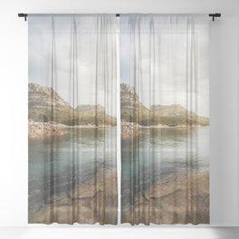 Honeymoon Bay Freycinet National Park | Tasmania Australia Nature Landscape Travel Photography Sheer Curtain