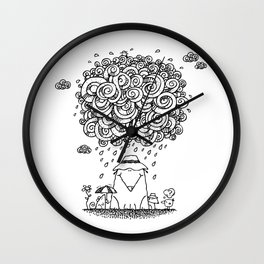 The Cloudburst Wall Clock