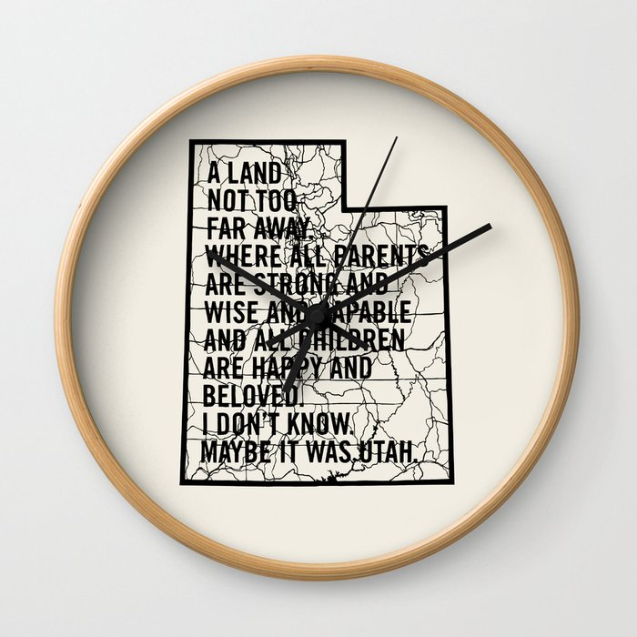 Raising Arizona - Maybe It Was Utah Wall Clock
