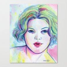 Neon Drew Canvas Print