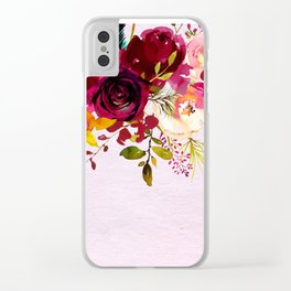 Flowers bouquet #38 Clear iPhone Case