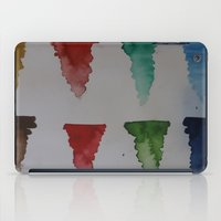 watercolour iPad Cases featuring Watercolour by Crimson-daisies