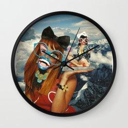 Biffles Wall Clock