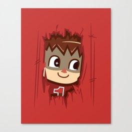 Heeeeere's..... the Villager! Canvas Print