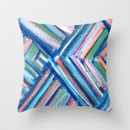 Modern Art Chevron Throw Pillow