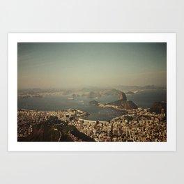 Rio Vintage Art Print