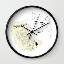 declaration  Wall Clock