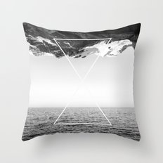 Roof of the World Throw Pillow
