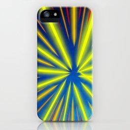 Radiant Flow3 iPhone Case